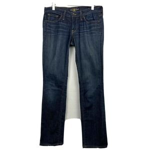 Lucky Brand Charlie Straight Jeans Blue Ankle